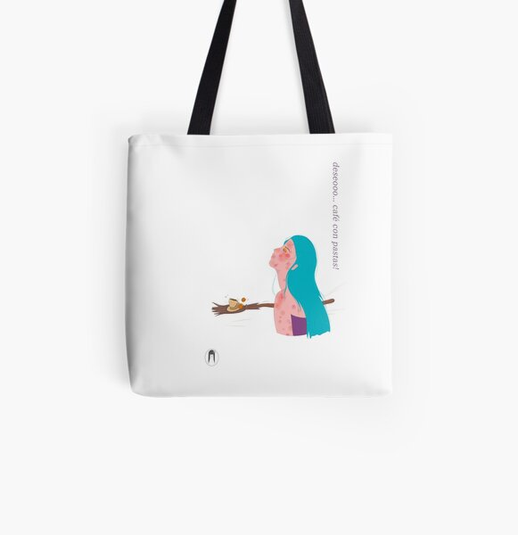 Broom of wishes All Over Print Tote Bag