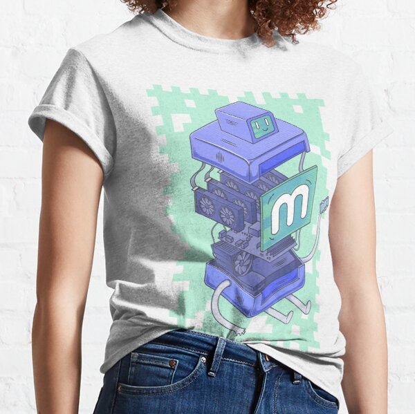 Anatomy of a Miner Classic T-Shirt