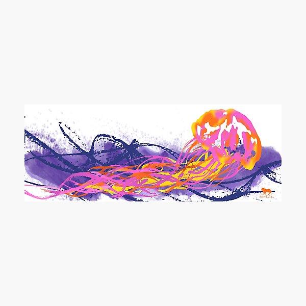 Jellyfish Summer Photographic Print