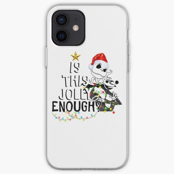Jack Is This Jolly Enough Merry Christmas iPhone Soft Case