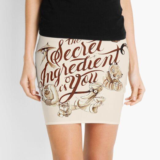 Secret Ingredient Mini Skirt