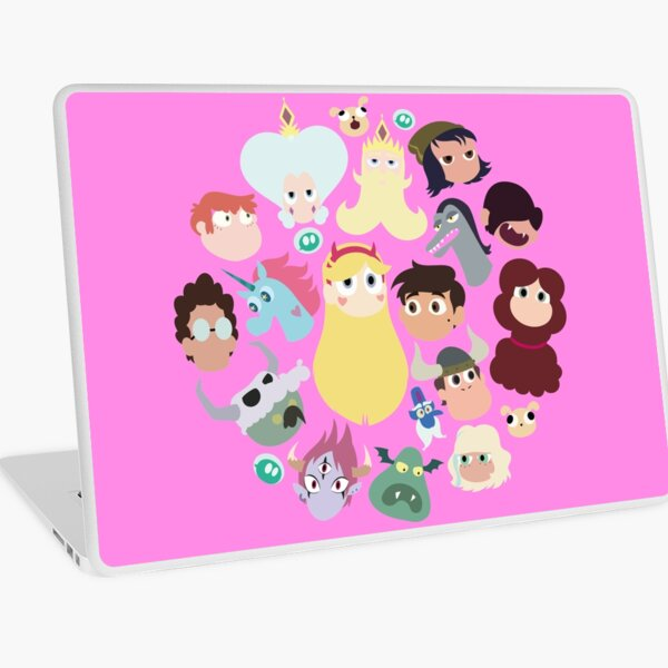 Star vs. the Forces of Evil Characters Laptop Skin