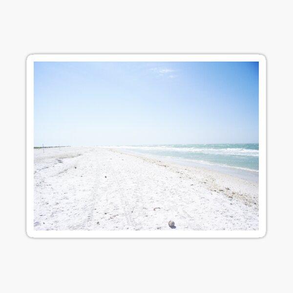 A Walk on the Soft Sand Sticker
