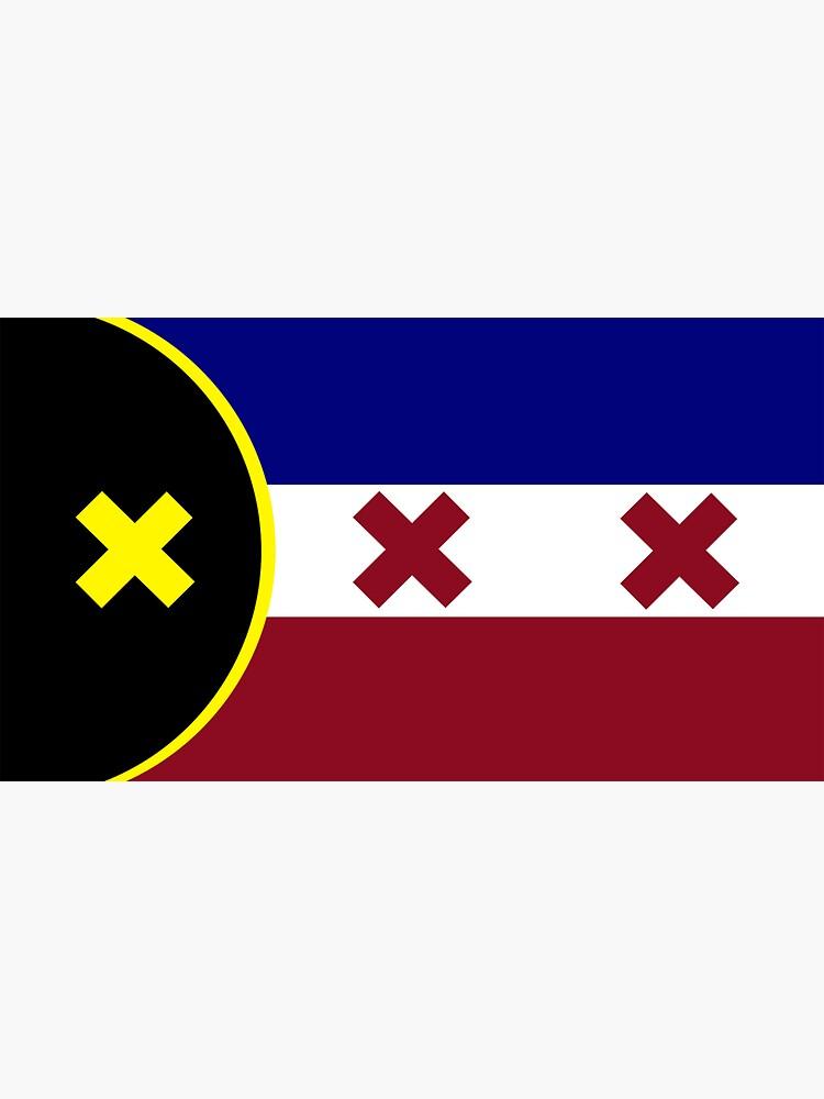 L'Manberg Flag (Dream SMP) by svzu32
