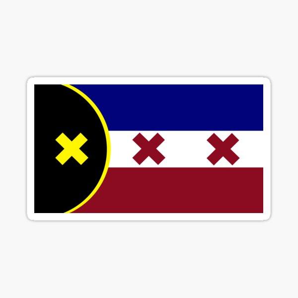 L'Manberg Flagge (Traum SMP) Sticker