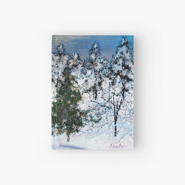 Deer in the snow... Hardcover Journal