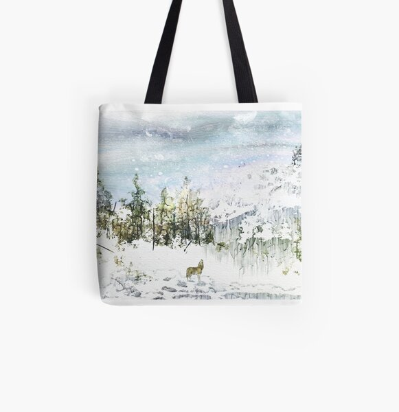 The Lone Wolf All Over Print Tote Bag