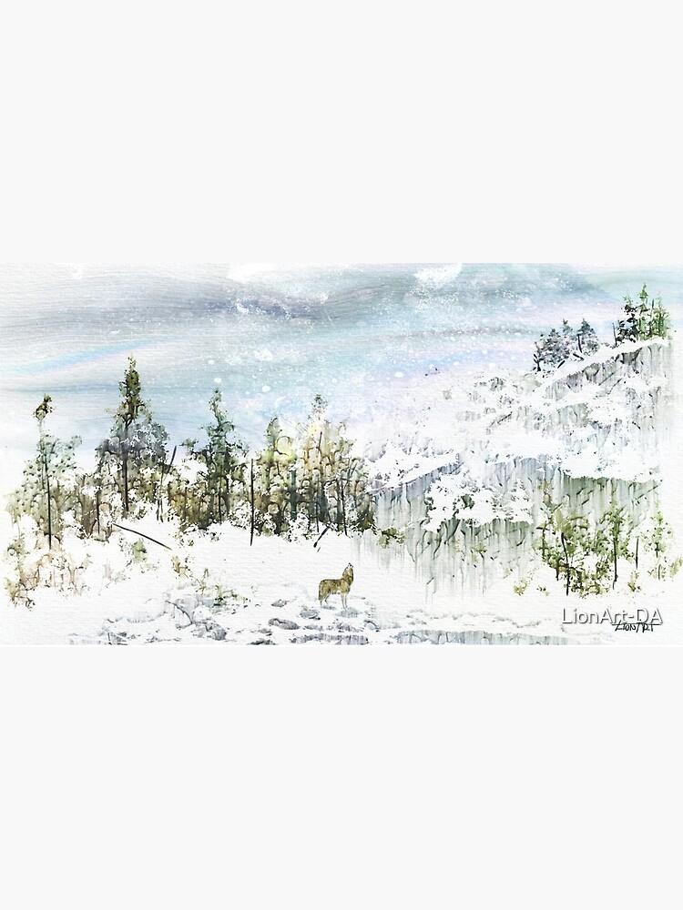 The Lone Wolf by LionArt-DA