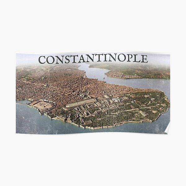 Constantinople Panorama Poster