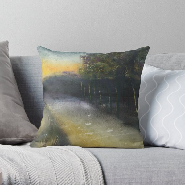Country road take me home... Throw Pillow