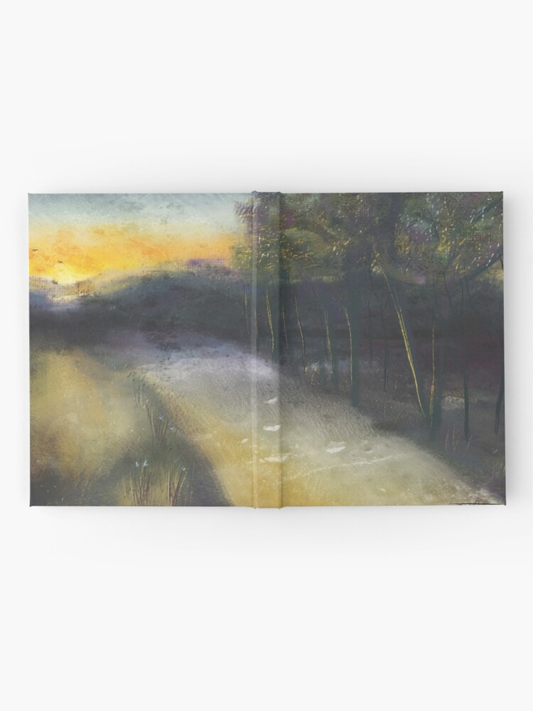 Alternate view of Country road take me home... Hardcover Journal