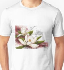 Magnolia in my head Unisex T-Shirt