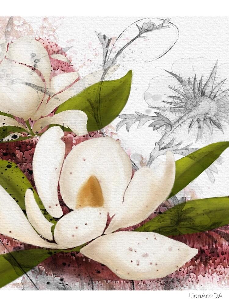 Magnolia in my head by LionArt-DA