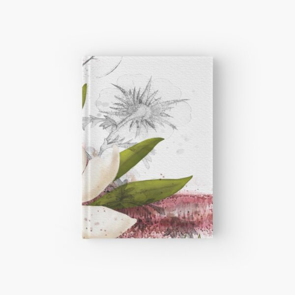 Magnolia in my head Hardcover Journal