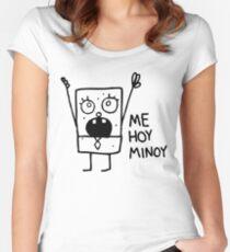 Camiseta entallada de cuello ancho Bob Esponja: Doodlebob