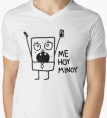 Camiseta de cuello en V Bob Esponja: Doodlebob