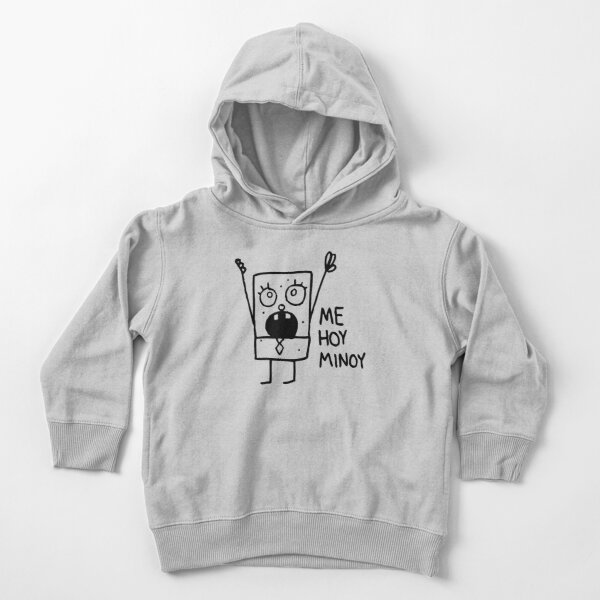 [ORIGINAL] Spongebob: Doodlebob Toddler Pullover Hoodie