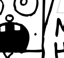 Spongebob Doodlebob Stickers By Lasercatz Redbubble - Spongebob car decals