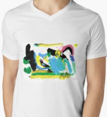 Fun with Paint Men's V-Neck T-Shirt