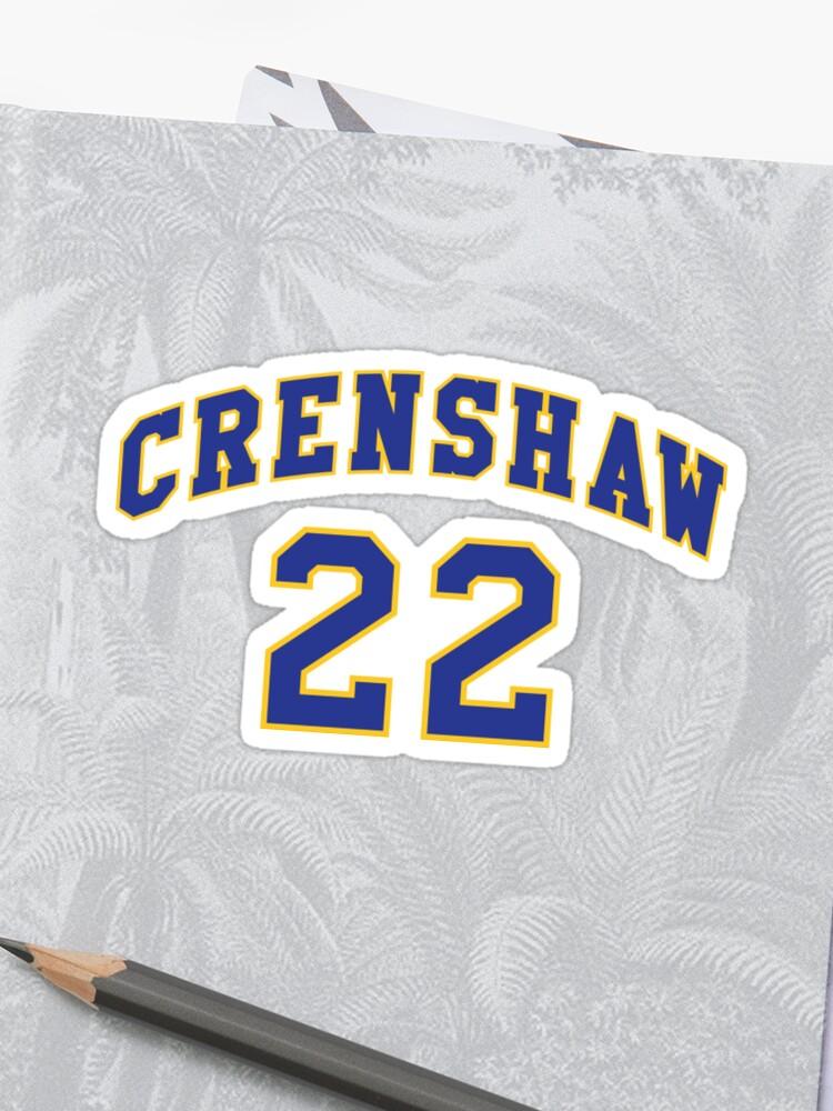 68ecfa20cb72 Quincy McCall 22 Crenshaw High School Basketball Shirt