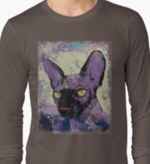 Sphynx Painting Long Sleeve T-Shirt