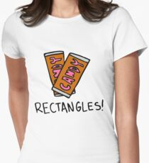 Spongebob: Rectangles! Women's Fitted T-Shirt