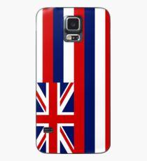 Hawaii State Flag - (Vertical) Case/Skin for Samsung Galaxy