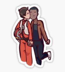 Gaybes - finnpoe Sticker