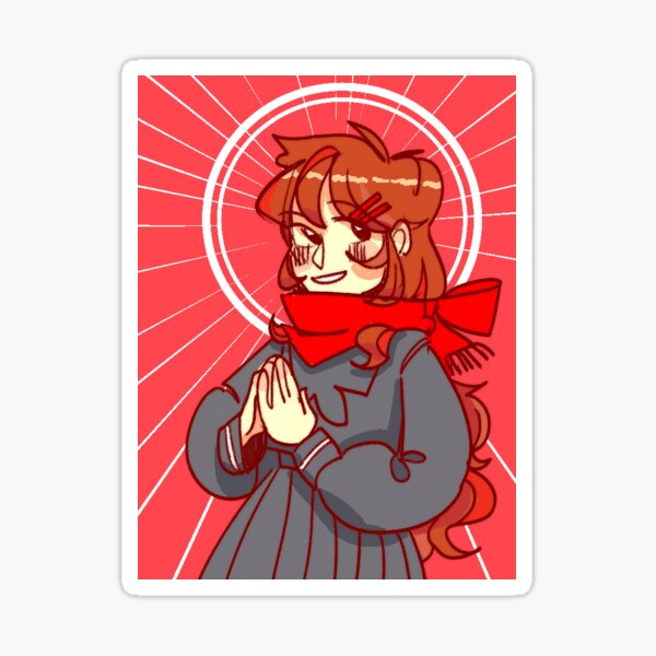 our savior Sticker