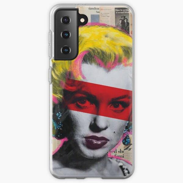 Marilyn Monroe RED Samsung Galaxy Soft Case