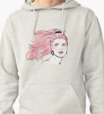 Spring Fashion Illustration  Pullover Hoodie