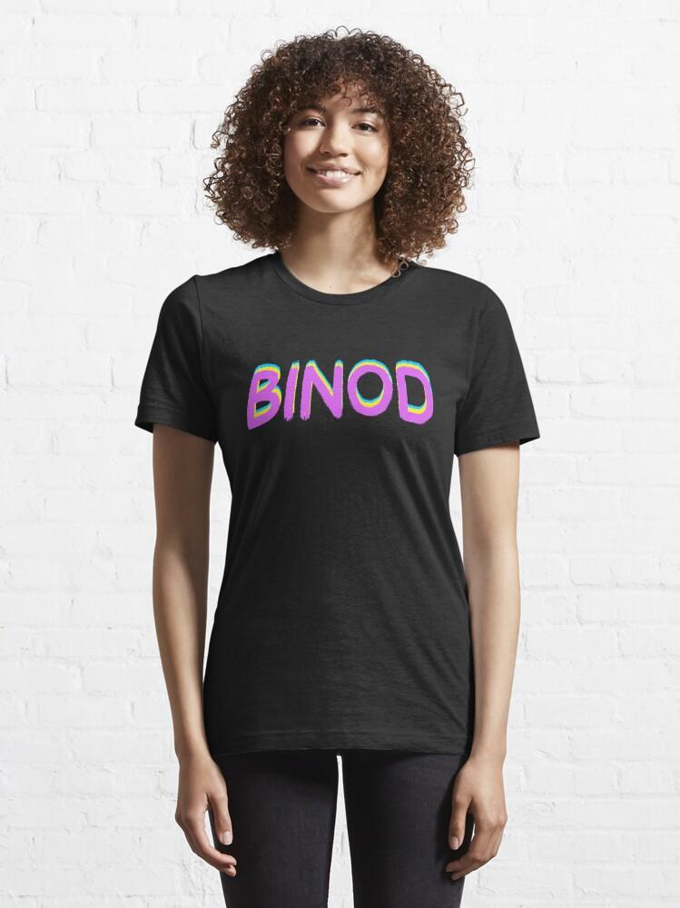Alternate view of Binod Essential T-Shirt