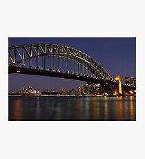 Harbour Lights Photographic Print
