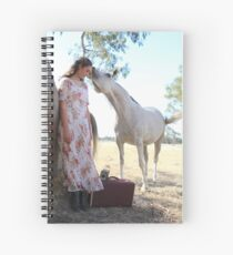 "Zoe Eve ""First Kiss"" Spiral Notebook"