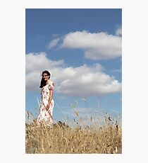 "Zoe Eve ""Summer Clouds"" Photographic Print"