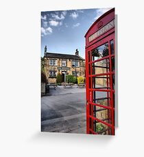 The Woolpack ~ Emmerdale Farm Country Greeting Card