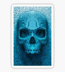 Pixel skull Sticker