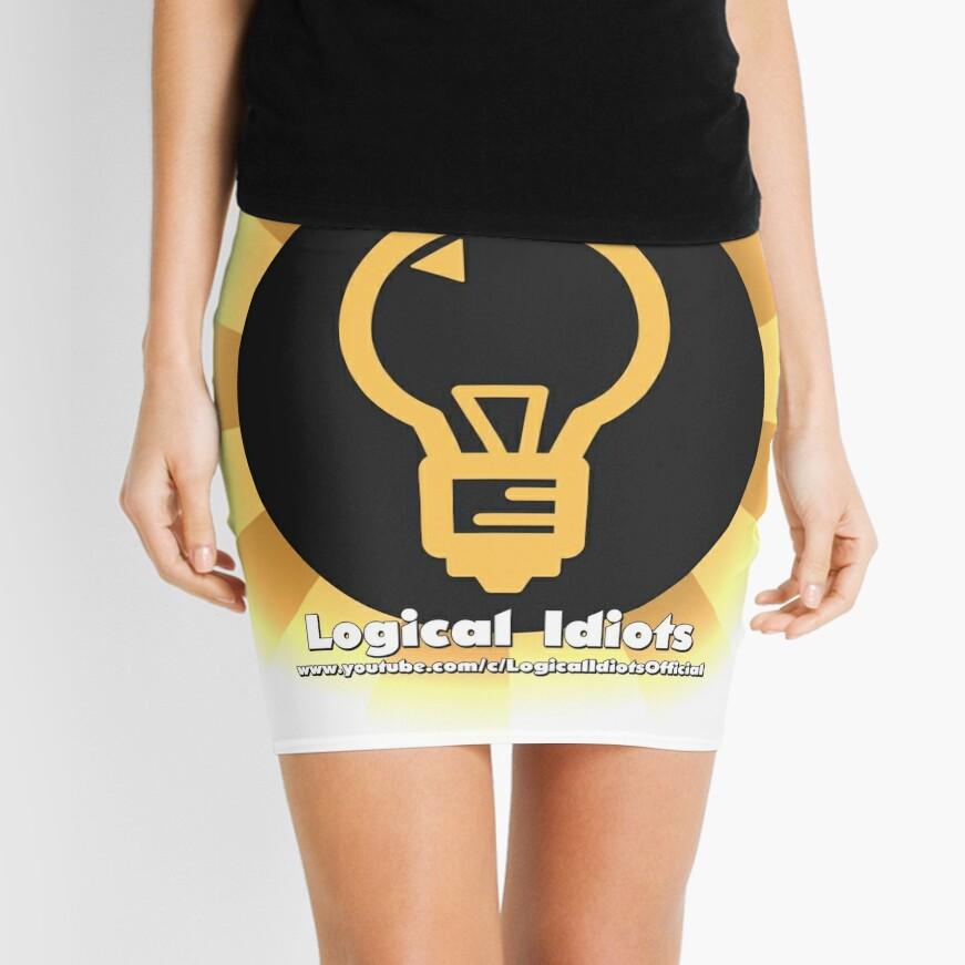 Logical Idiots v4 - El bulbo rediseñado (Brillante) Minifalda