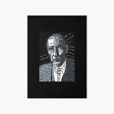 William Burroughs Art Board Print