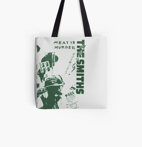 The Smiths - Meat is Murder (Japanese) (green variant) All Over Print Tote Bag