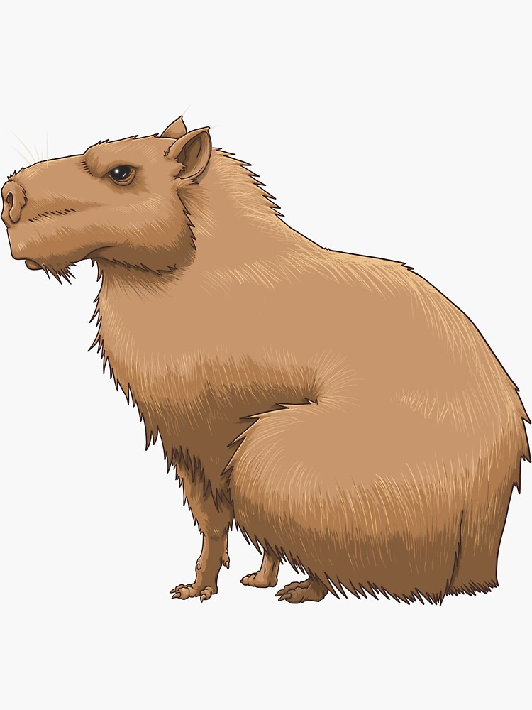 The Capybara by riotpixel