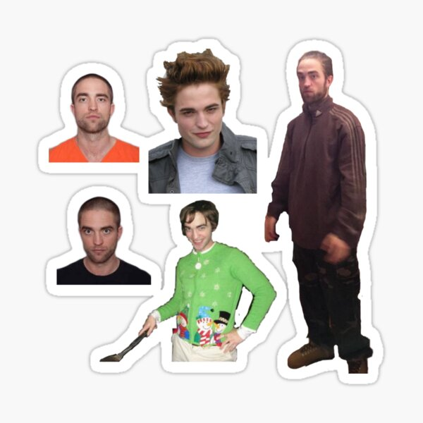 Robert Pattinson meme pack  Sticker