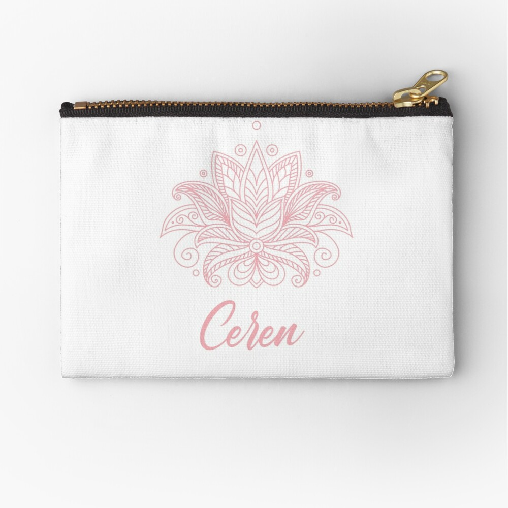 Ceren Zipper Pouch