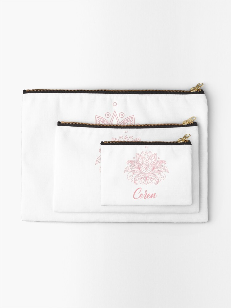 Alternate view of Ceren Zipper Pouch