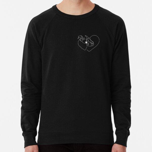 Love at First Woof (in White) Lightweight Sweatshirt