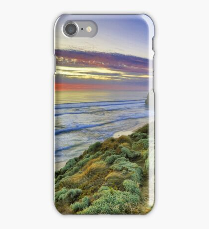 Sunset and the 12 Apostles are asleep.... iPhone Case/Skin