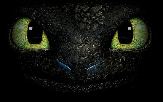 Awesome dragon face. Transparent vectorial design. by pinestopalms