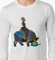 abstract ethnic girl T-Shirt