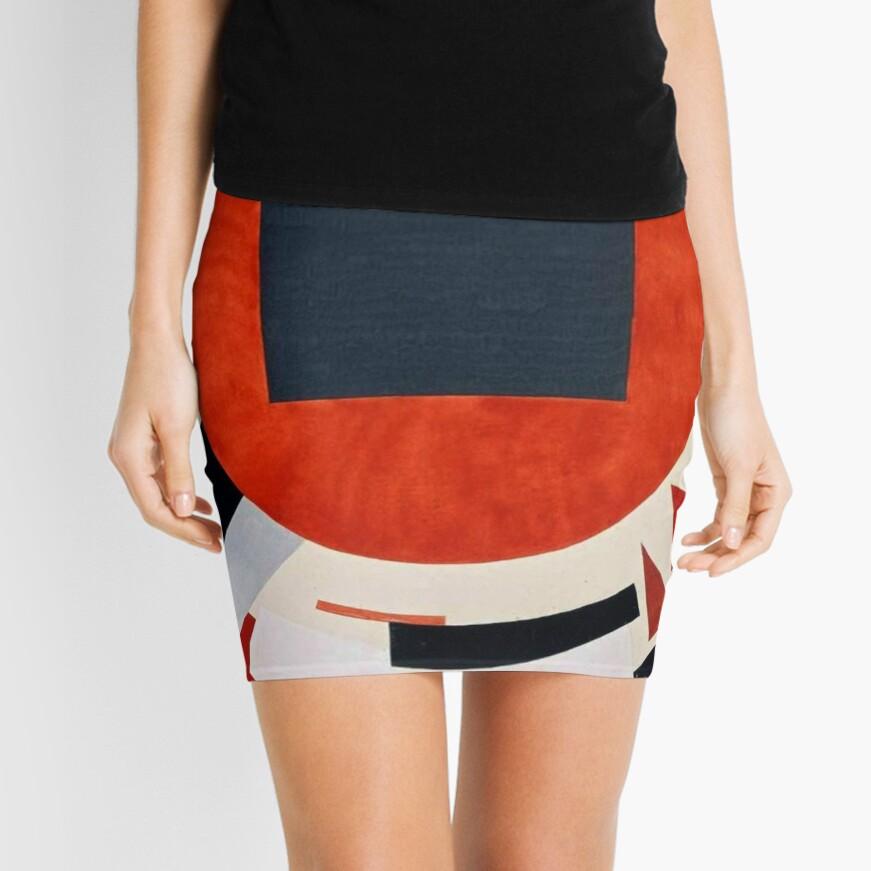 Lissitzky's Proun, pencil_skirt,x1000,front-c,378,0,871,871-bg,f8f8f8