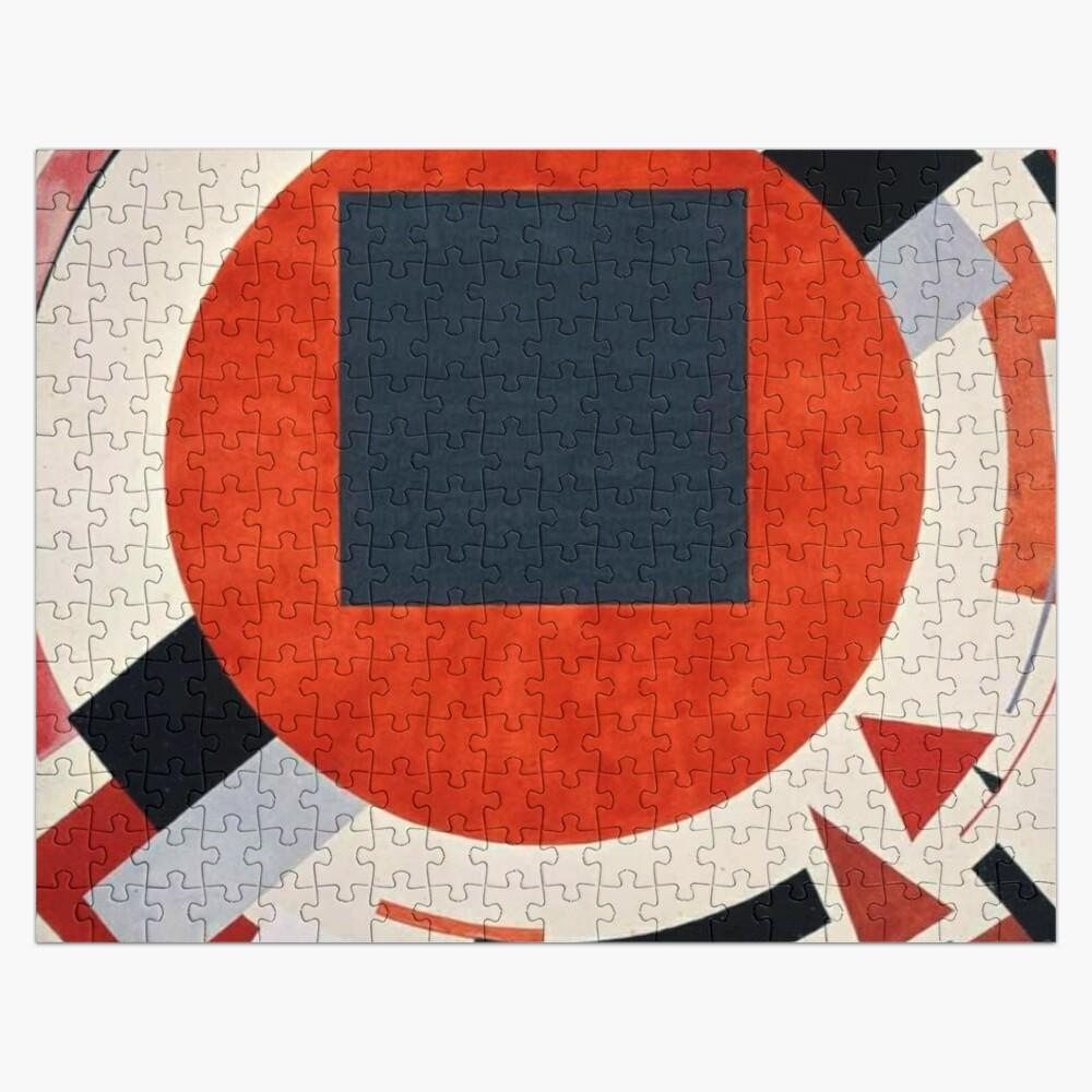 Lissitzky's Proun, ur,jigsaw_puzzle_252_piece_flatlay,square_product,1000x1000-bg,f8f8f8
